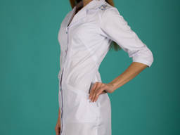 Медичний халат жіночий «Гербера нова»