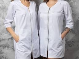 """Медичний халат жіночий """"Сільва"""""""