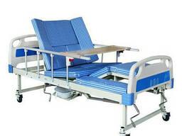 Медицинская кровать функциональная комбинированная с туалетом Е30