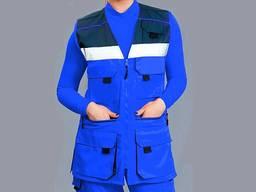 Медицинская одежда для скорой помощи синий цвет