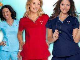 Медицинская женская одежда в асортименте