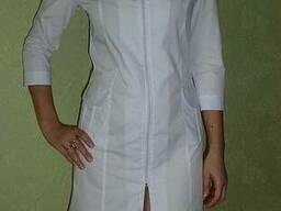 Медицинский халат Алла. Ткань: батист.