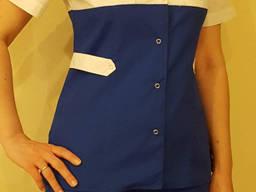 Медицинский костюм двухцветный