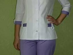 Медицинский костюм Астра. Ткань: мед-твил (диагональ).