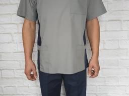Медицинский костюм мужской . Ткань батист.