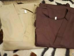 Медицинский костюм мужской. Ткань батист (рубашка).