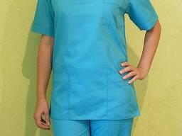 Медицинский костюм. Ткань: батист