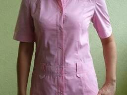 Медицинский костюм женский, куртка с коротким рукавом