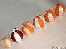 Медицинский мяч (медбол) от 1кг-10кг кожа натуральная