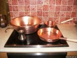 Медная посуда от производителя