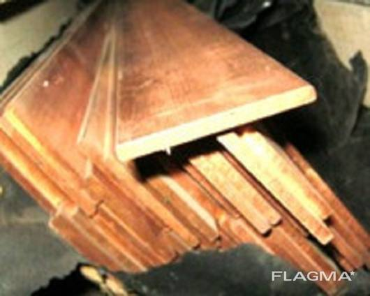 Шина медная (полоса) М1 3х20 мм