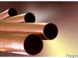 Медная труба (тонкостенная) 15мм - 18мм - 22мм тв. тол. 1мм