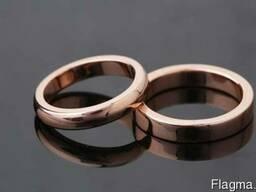 Медное кольцо классическое ручной работы (медь 99. 9 %)/