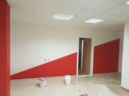 Мех. Покраска стен и потолков подъездов, лифтовых, коридоров