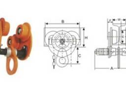 Механизм передвижения тали с ручным приводом