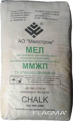 Мел природный кормовой ММЖП, пищевой, 30 кг (меш)
