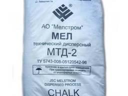 Мел строительный или кормовой ММС-2, МТД-2 мешки пМел крейда