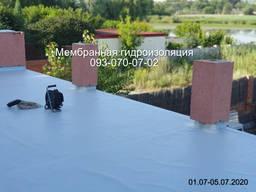 Мембранная гидроизоляция террас, балконов