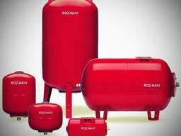 Мембранные баки (гидроаккумуляторы) Модельный ряд «ROZ-NAVI»