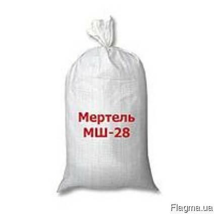 Мертель Шамотный МШ-39 ВАОК (25кг)