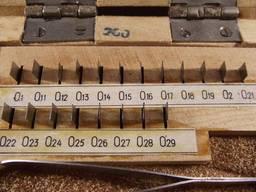 Меры длины концевые плоскопараллельные №10. 0, 1-0, 29