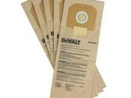 Мешки одноразовые бумажные для пылесоса DWV902L DeWALT DWV94