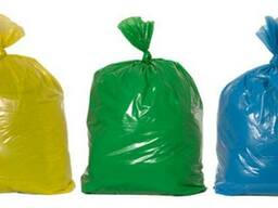 Мешки, пакеты для мусора 35л, 60л, 120л