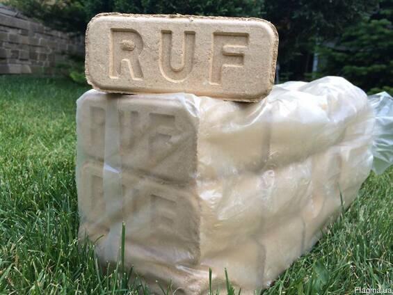 Топливные брикеты типа RUF