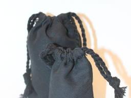 Мешочек черный 10*15 см.