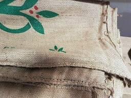 Мешок б/у джутовый от кофе. Мешки бу