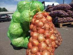 Мешок-сетка овощная 40 кг (50х80см).