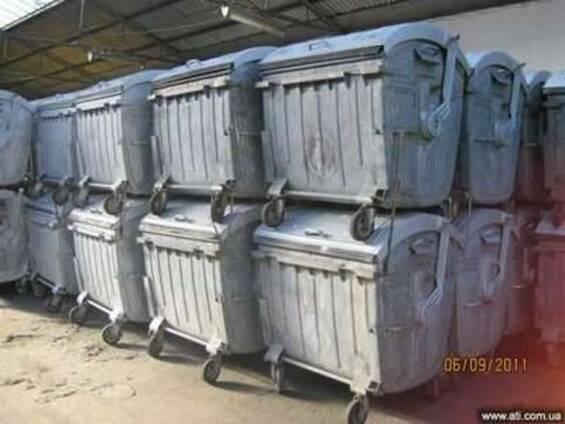 Металеві контейнери б. у.