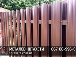 Металеві Штахети 0,45 мм US Steel Словаччина Гарантія! Безкоштовна доставка! Завод