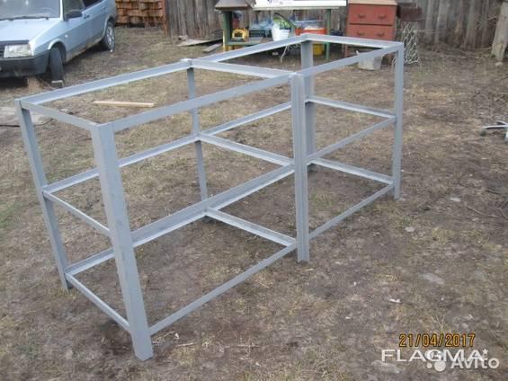Металеві стелажі, виготовлення металевих стелажів