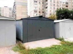 Металевий гараж із сталі 2,0 мм