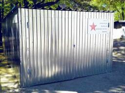Металевий гараж з профнастила 0,5 мм