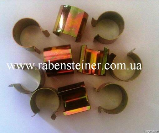 Металевий кліпс для фіксації плівки на трубу діам. 22-40 мм