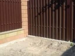 Металевий штахетник - сучасний паркан у Києві