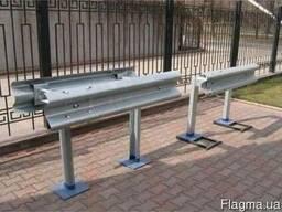 Металл. дорожные ограждения одностор. барьерного типа 11ДО