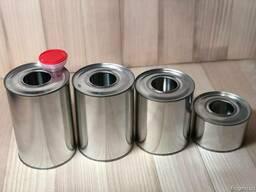 Металлическая тара с пластиковым дозатором