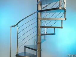 Металлическая винтовая лестница под заказ, Симферополь, Крым