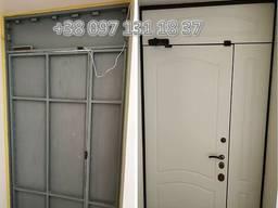 Металлически входные двери, перегородки. Изготовление металлоконструкций в Мариуполе