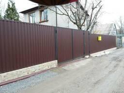 Металлические двери, решетки, ворота, забор, балкон, навес