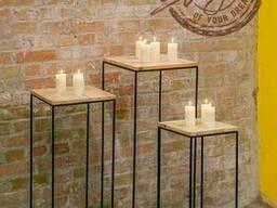 Металлические консоли в стиле лофт (колоны, стойки )