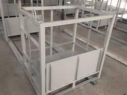 Металлические контейнеры для газовых баллонов