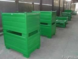Металлические контейнеры закрытого типа купить цена