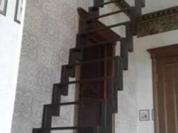 Металлические лестницы, металлокаркас лестницы под заказ