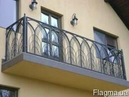 Металлические перила, ограды, заборы. Кованые, сварные.