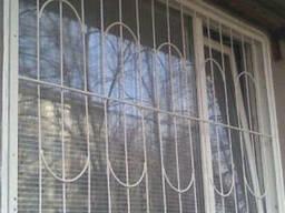 Металлические решетки на окна - фото 2