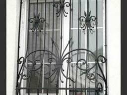 Металлические решетки на окна (защитные для окон)